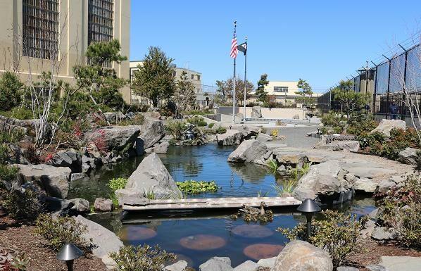 Japanese garden oregon prison